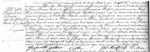 Acte de décès de Pierre Trentini (archives départementales du Haut-Rhin)