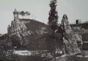 Le Parc des Buttes-Chaumont, Paris, 1867 (détail) © Charles Marville/BHVP/Roger-Viollet