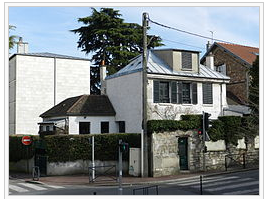 Maison natale de Pierre Bonnard à Fontenay-aux-Roses (Crédit graphique : Wikipédia)