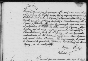 « ont déclaré ne savoir signer, de ce interpellés », 1877