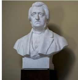 Auguste Duméril, buste en marbre d'Édouard Houssin (1847-1917) pour une commande de l'État (1901-1909) © MUSÉUM NATIONAL D'HISTOIRE NATURELLE
